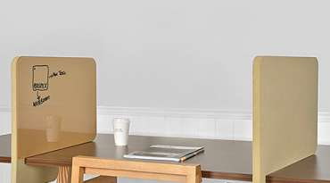 Products – Noticeboards & desk COVID dividers